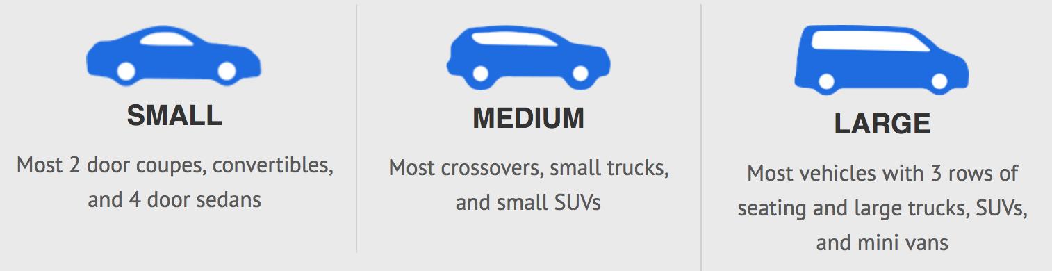 car size