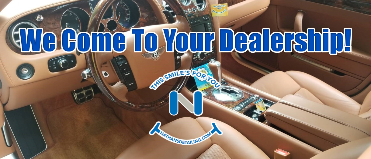 Nathan's Auto detailing dealerships